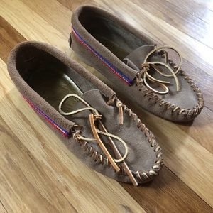 NWOT Genuine Leather Moccasins